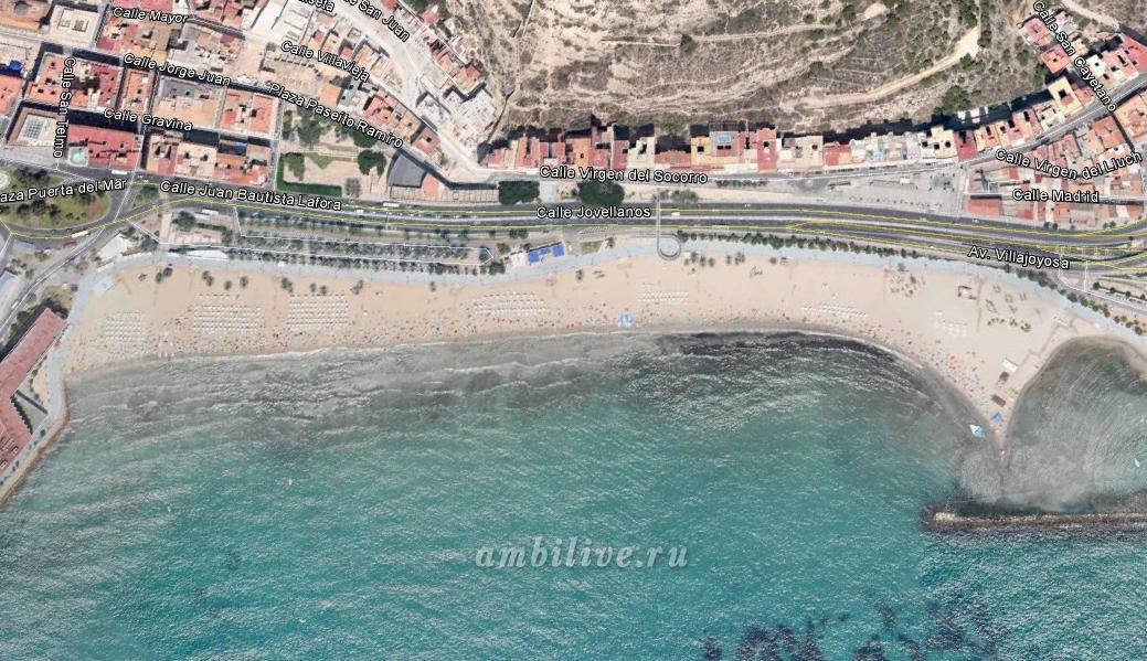 пляж нудистов в аликанте